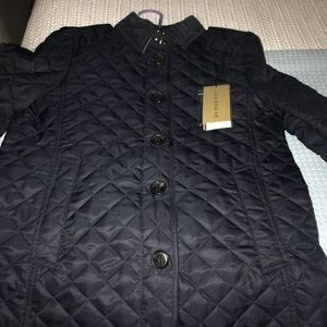 Burberry Ashurst Quilted Jacket (Navy)